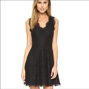 "Joie ""Nikolina"" Black Lace Dress"